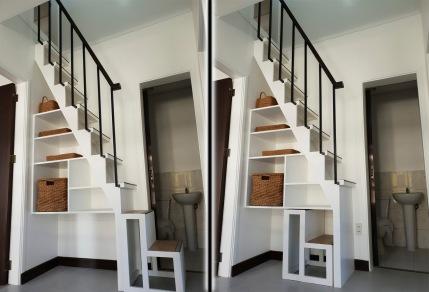 Modular Staircase to Den/Study Area